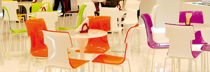 Plexiglass furnishing complements